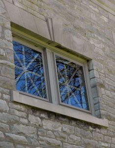 QUANTAPANEL EnergyStar architectural low-e storm windows save energy and improve comfort on historic buildings.